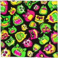 Things That Go Bump in the Night 70x70 cm Knot Wrap
